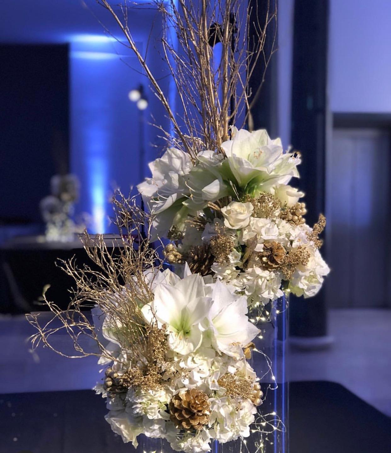 cvetni aranzmani za dekor zabava