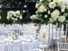 Dekoracija vencanja-cvetni aranzmani-zelenilo-srebrni stalci-beograd-dekoracija stola-tifany stolice