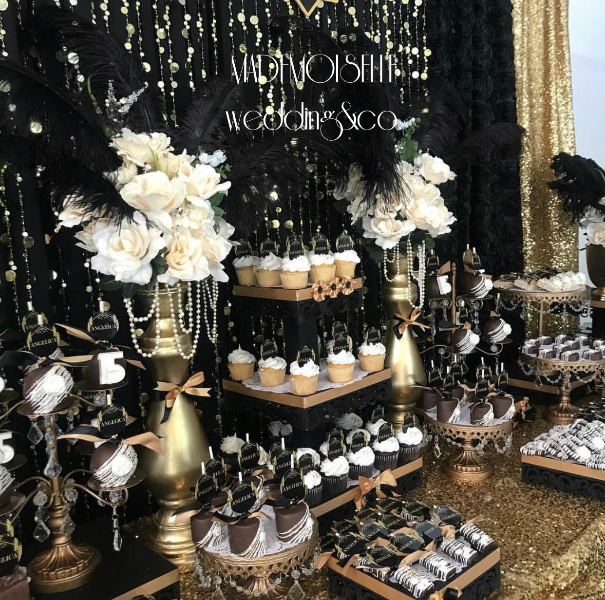IMG_E4510-slatki sto-dekoracija slatkog stola-tematske dekoracije-crno zlatna dekoracija-dekoracija rodjendana-punoletsvo-cupecakes-kolacici za slatki sto-dekoracija rodjendana-dekoracija vencanja