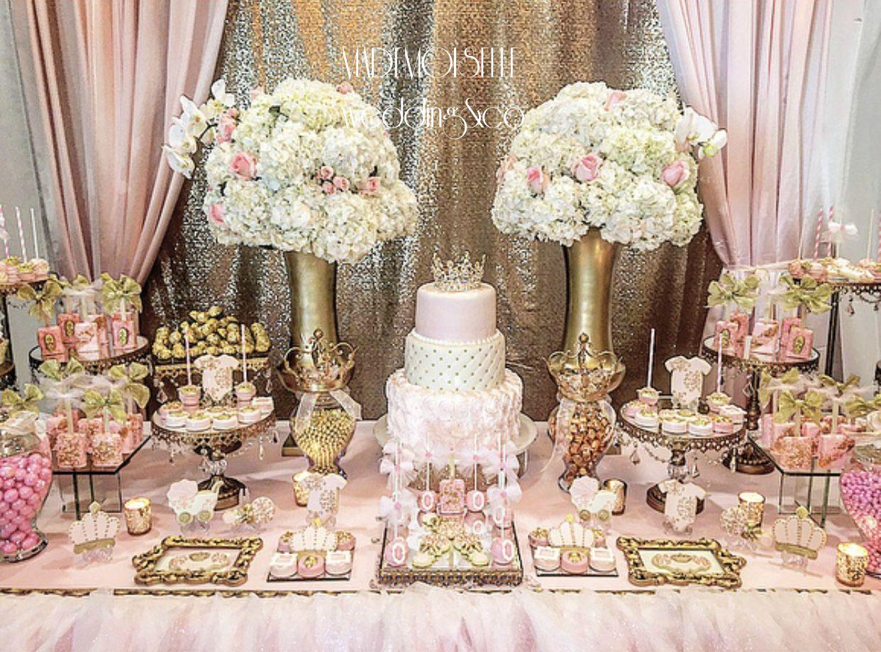 IMG_E4527-slatki sto-dekoracija rodjendana-dekoracija ya krstenje-kolacici-roze zlatna dekoracija slatkog stola
