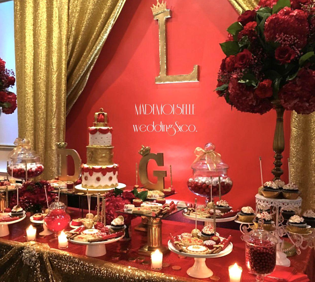 IMG_E4540-slatki sto-crvena dekoracija-crvene ruze-dekoracija rodjendana-dekoracija za svadbe-kolacici-crveno zlatna dekoracija slatkog stola