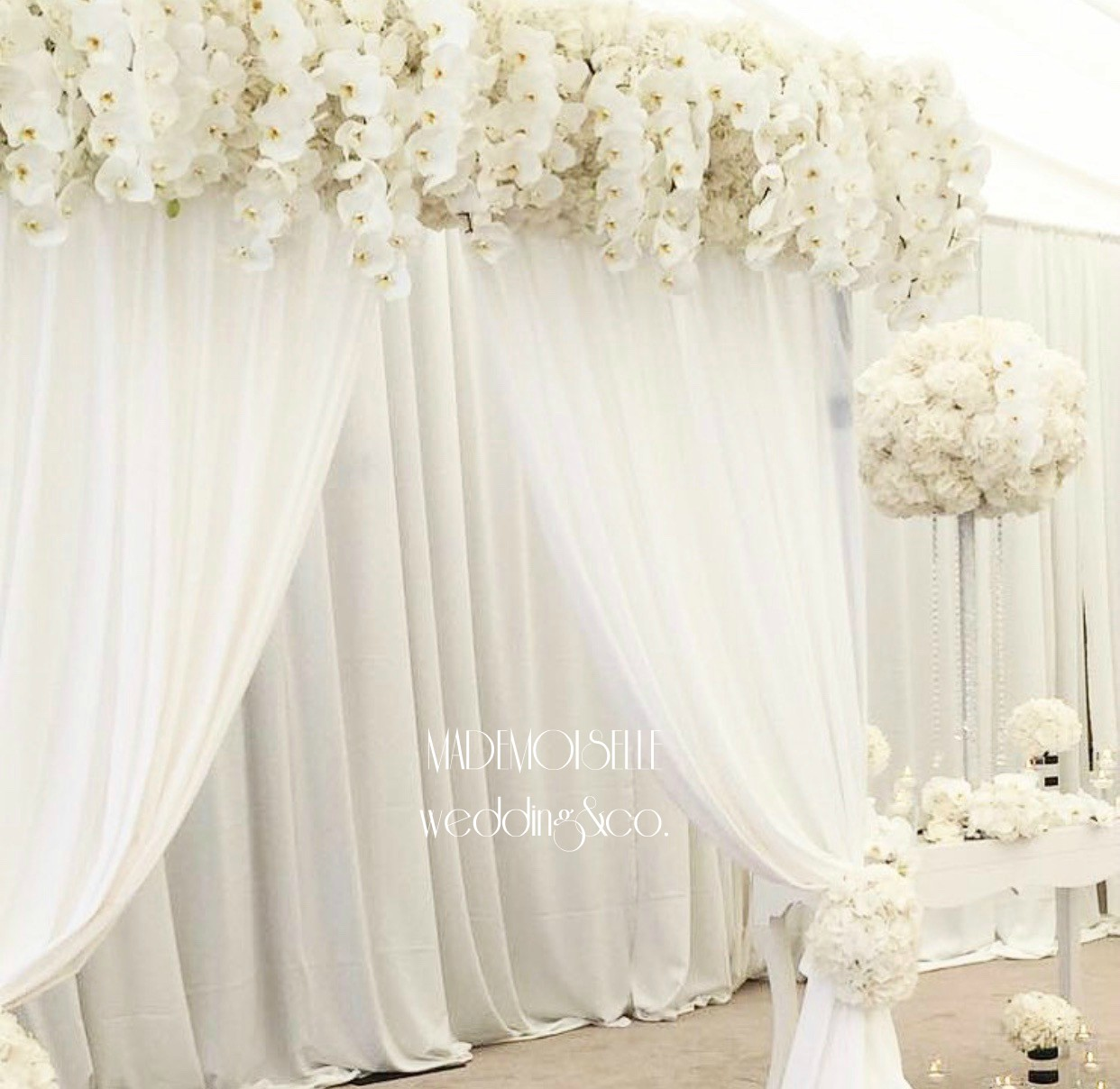 Dekoracija svadbe-dekoracija vencanja-paravan za slikanje-paravan sa cvecem-draperija-cvetni venac-pozadina za slikanje-zid za slikanje