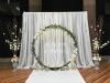 Dekoracija svadbe-dekoracija vencanja-paravan za slikanje-paravan sa cvecem-draperija-cvetni venac-pozadina za slikanje-cvetni luk-cvetni krug-dekoracija st.gallen-dekoracija vencanja svajcarska